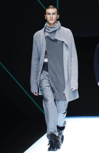 EMPORIO ARMANI MENSWEAR FALL WINTER 2018 MILAN62