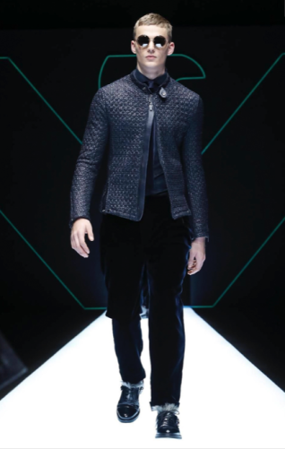 EMPORIO ARMANI MENSWEAR FALL WINTER 2018 MILAN64
