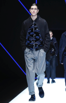 EMPORIO ARMANI MENSWEAR FALL WINTER 2018 MILAN66