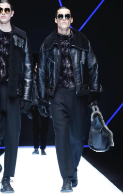 EMPORIO ARMANI MENSWEAR FALL WINTER 2018 MILAN68