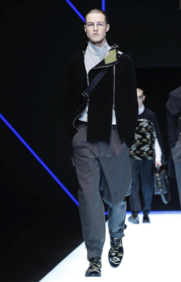 EMPORIO ARMANI MENSWEAR FALL WINTER 2018 MILAN69
