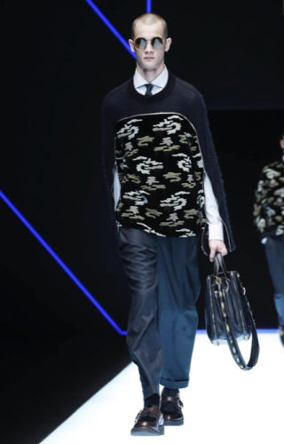 EMPORIO ARMANI MENSWEAR FALL WINTER 2018 MILAN7