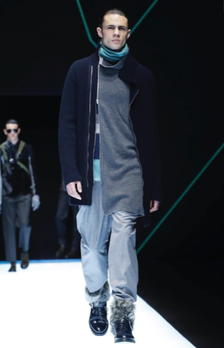 EMPORIO ARMANI MENSWEAR FALL WINTER 2018 MILAN72