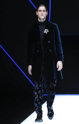 EMPORIO ARMANI MENSWEAR FALL WINTER 2018 MILAN75