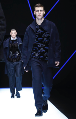 EMPORIO ARMANI MENSWEAR FALL WINTER 2018 MILAN76