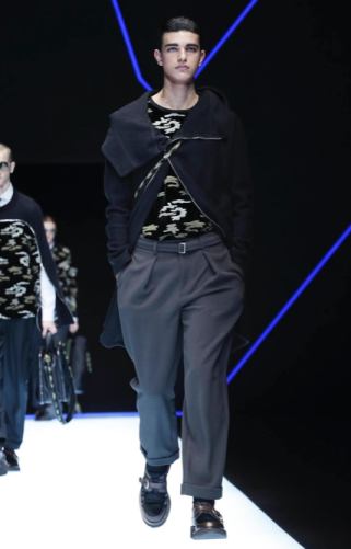 EMPORIO ARMANI MENSWEAR FALL WINTER 2018 MILAN78