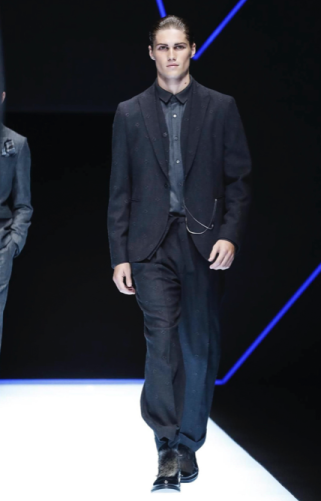 EMPORIO ARMANI MENSWEAR FALL WINTER 2018 MILAN79