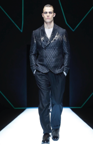 EMPORIO ARMANI MENSWEAR FALL WINTER 2018 MILAN80