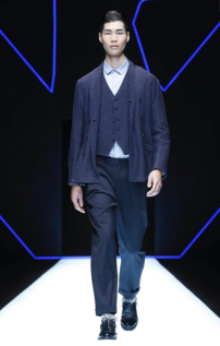EMPORIO ARMANI MENSWEAR FALL WINTER 2018 MILAN83