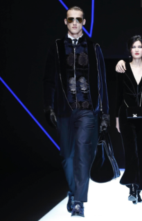 EMPORIO ARMANI MENSWEAR FALL WINTER 2018 MILAN84