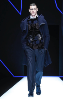 EMPORIO ARMANI MENSWEAR FALL WINTER 2018 MILAN85
