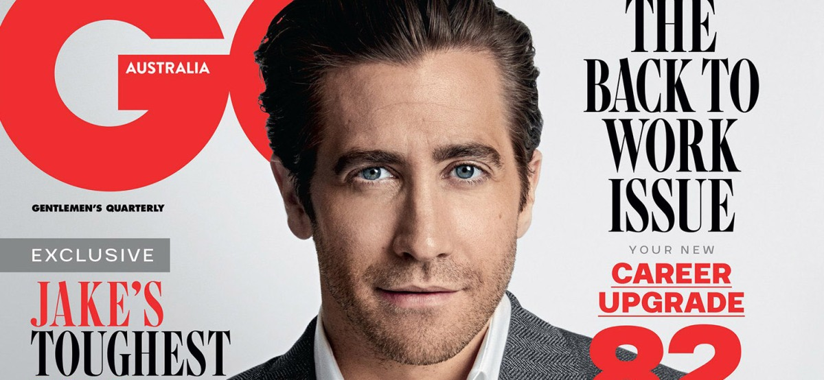 Jake Gyllenhaal for GQ Australia February 2018