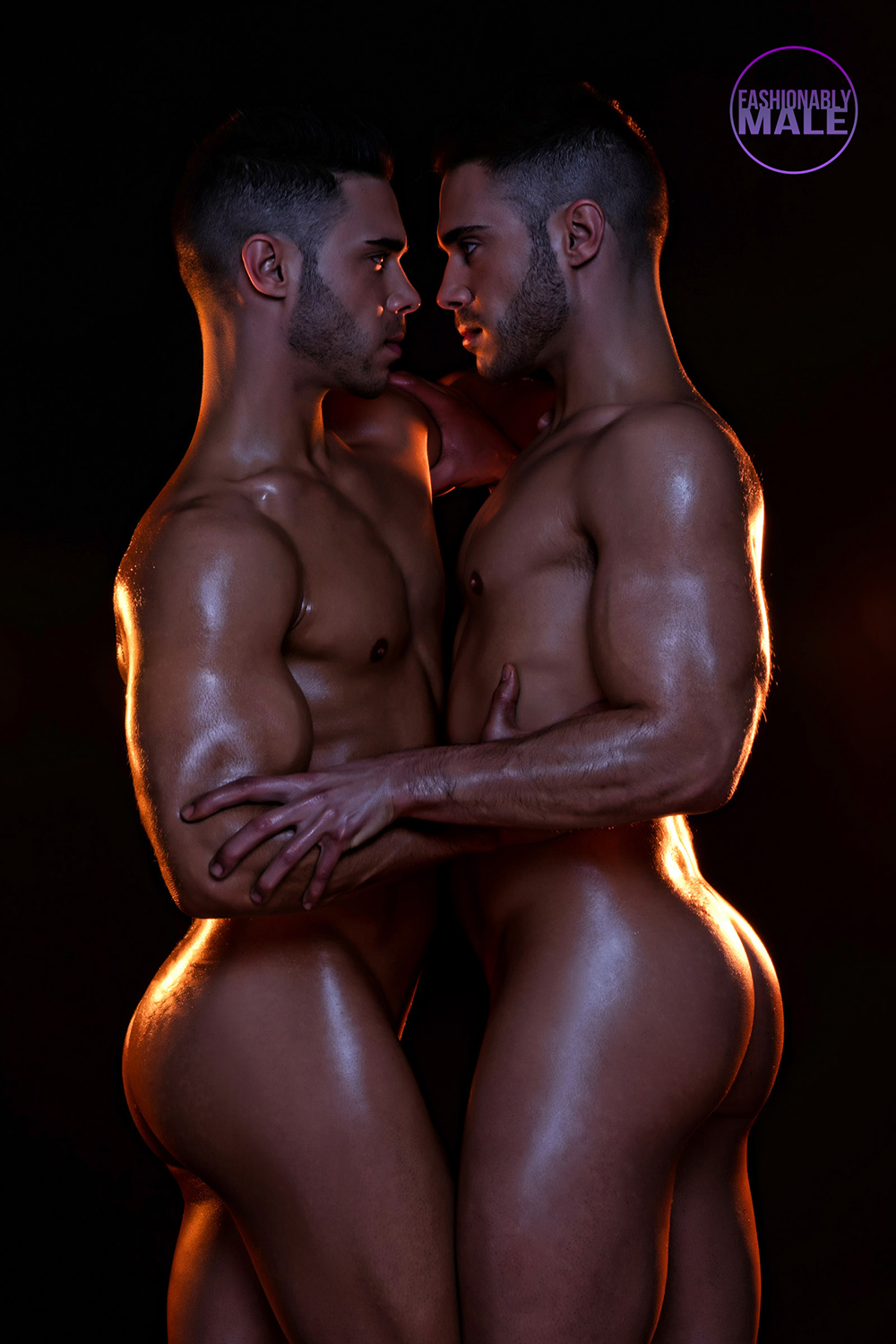 Joan Crisol Presents Gemelos Perez In Always Together  Fashionably Male-4723