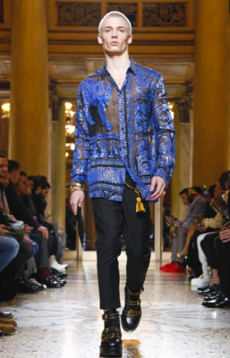 VERSACE MENSWEAR FALL WINTER 2018 MILAN5
