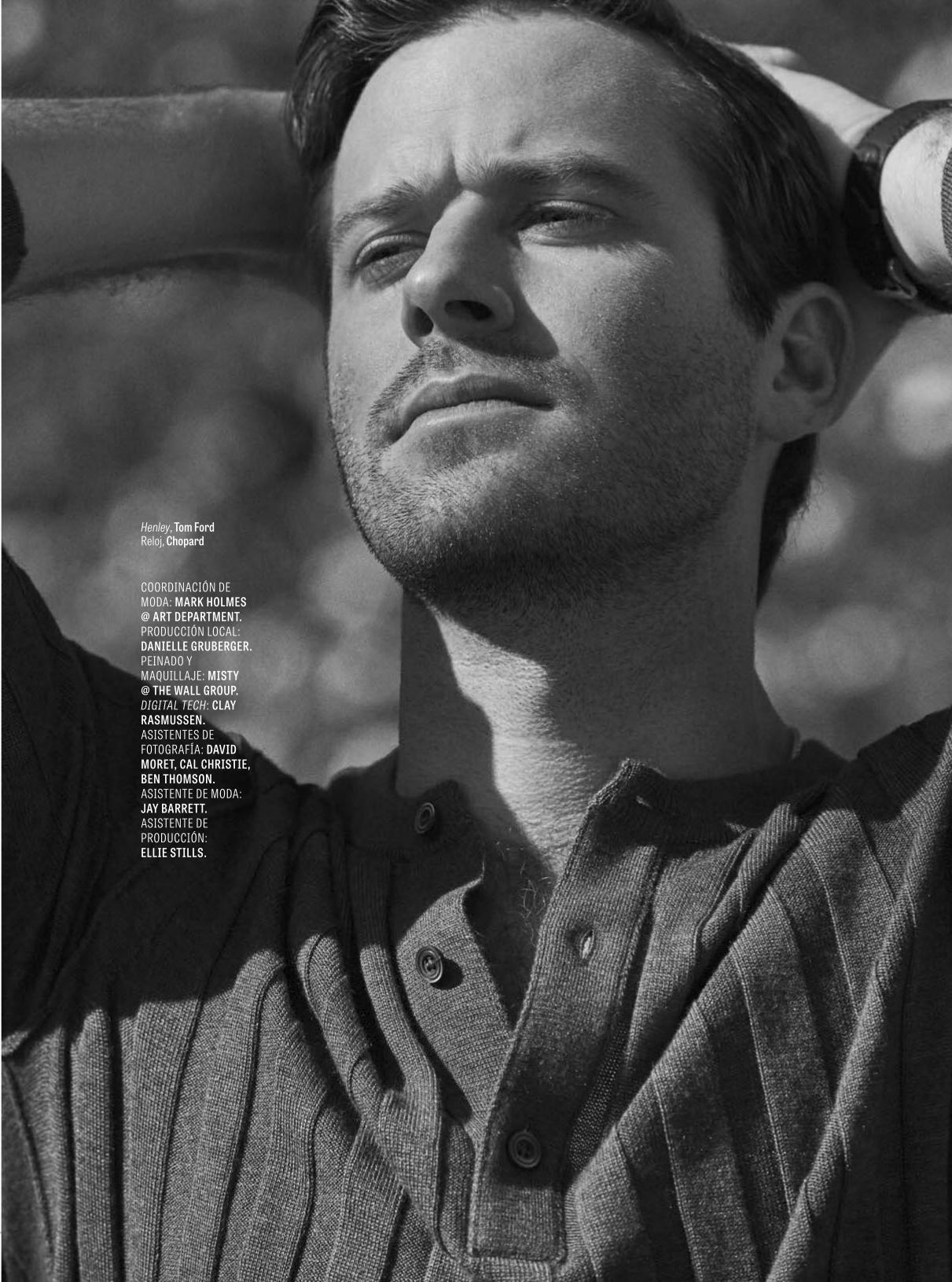 Armie Hammer for GQ Mexico March 2018 - Fashionably Male