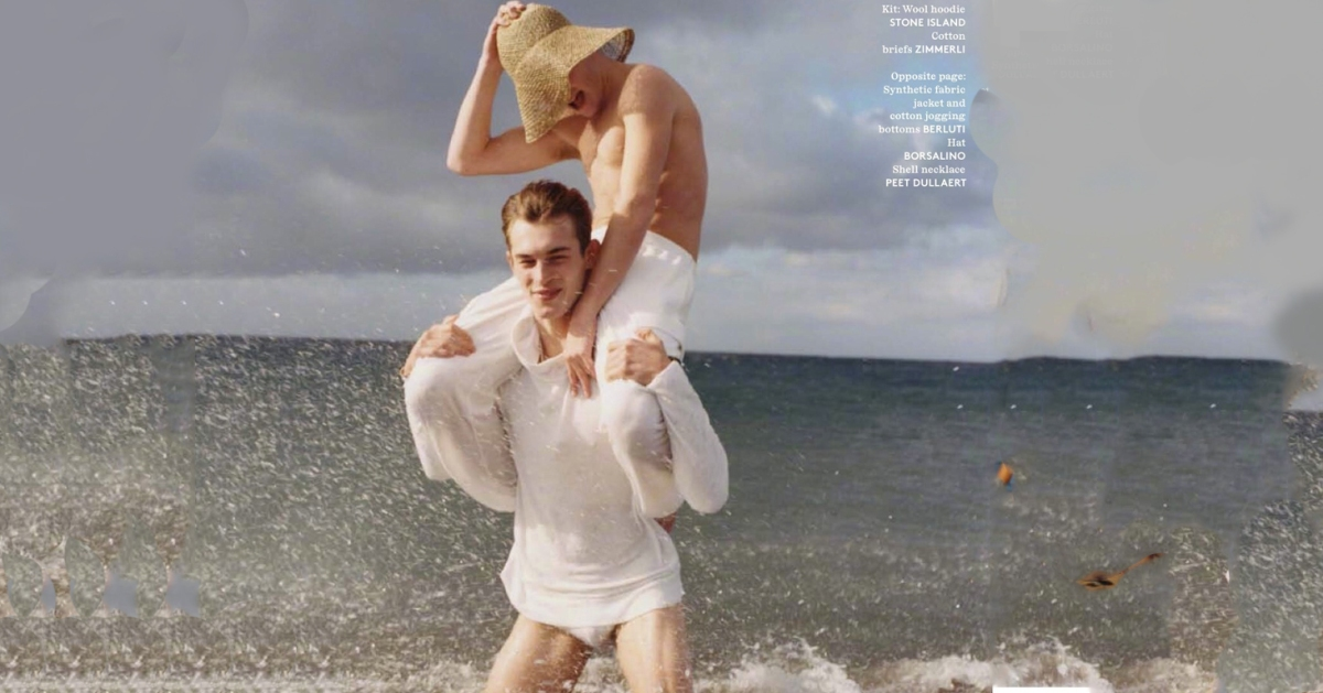 'Beach Games' as seen on Vogue Hommes S/S 2018