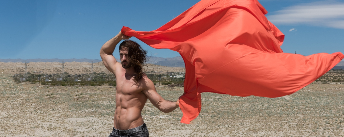 Wanna See a Sexy Long-Haired Guy? Here's Ryan Haringa by Benjamin Veronis